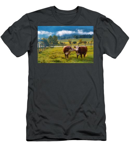 Bovine Love Men's T-Shirt (Athletic Fit)