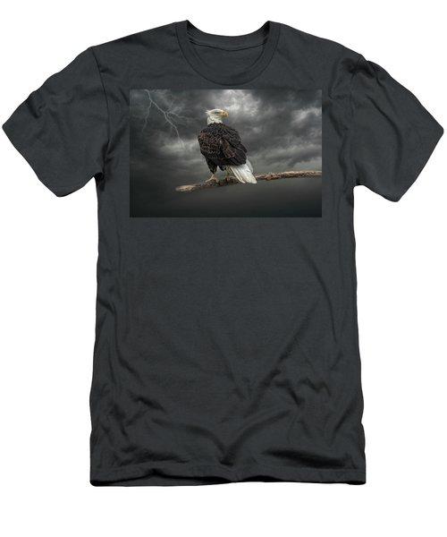 Braving The Storm Men's T-Shirt (Athletic Fit)