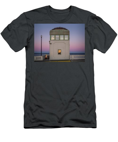 Bridge Tender's Tower Men's T-Shirt (Athletic Fit)