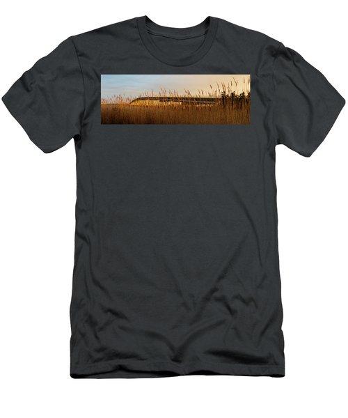 Bridge To Assateague Island National Seashore Men's T-Shirt (Athletic Fit)
