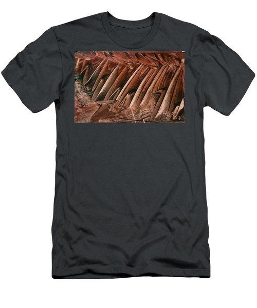 Brown Ladders/steps Men's T-Shirt (Athletic Fit)