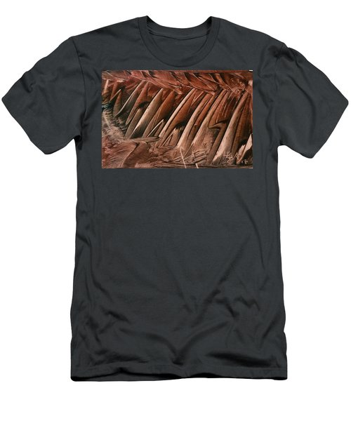 Brown Ladders/steps Men's T-Shirt (Athletic Fit)