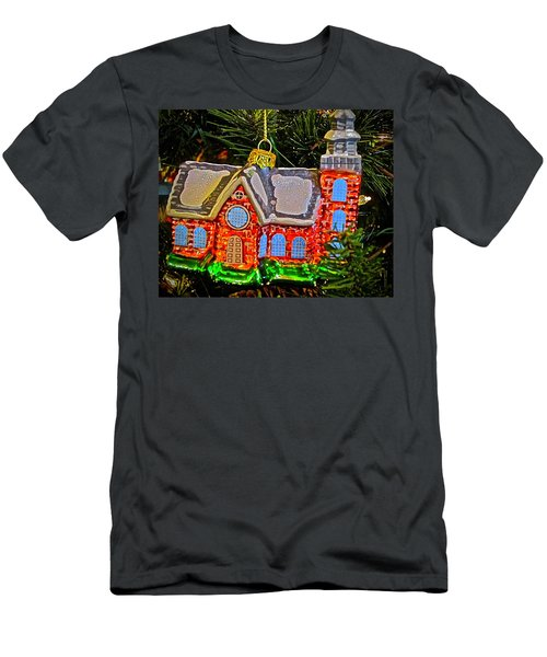 Men's T-Shirt (Athletic Fit) featuring the photograph Bruton Parish Church by Don Moore