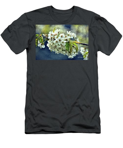 Budding Blossoms Men's T-Shirt (Athletic Fit)