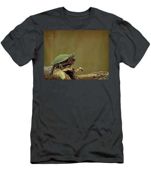 Bump On A Log Men's T-Shirt (Athletic Fit)
