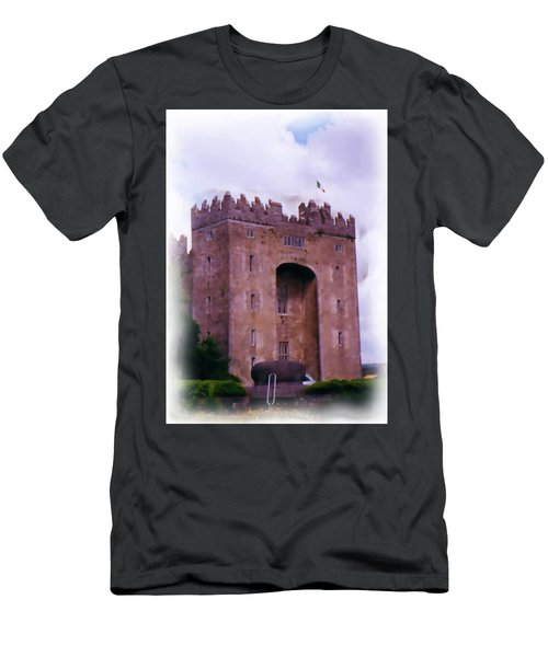 Bunratty Castle Painting Men's T-Shirt (Athletic Fit)