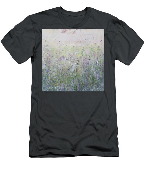 Buttercups And Bluebells Men's T-Shirt (Athletic Fit)