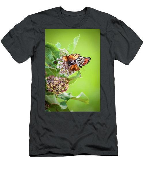 Men's T-Shirt (Athletic Fit) featuring the photograph Butterfly Buffet II by Jeff Phillippi