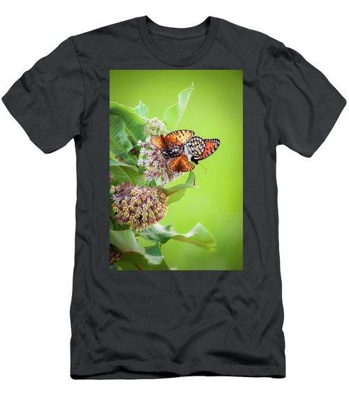 Butterfly Buffet II Men's T-Shirt (Athletic Fit)
