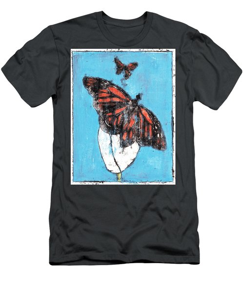 Butterfly Garden Summer 1 Men's T-Shirt (Athletic Fit)