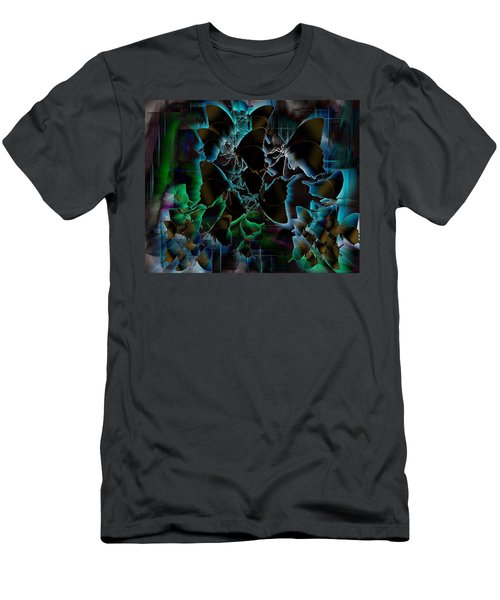 Butterfly Patterns 5 Men's T-Shirt (Athletic Fit)