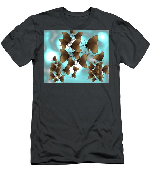 Butterfly Patterns 7 Men's T-Shirt (Athletic Fit)