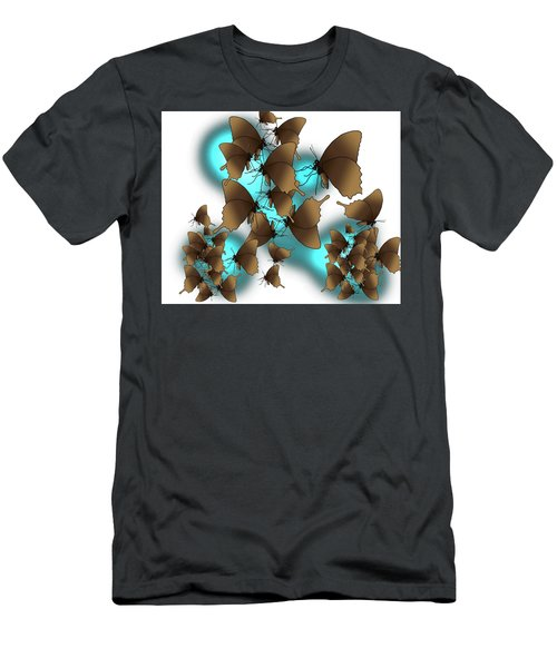 Butterfly Patterns 9 Men's T-Shirt (Athletic Fit)