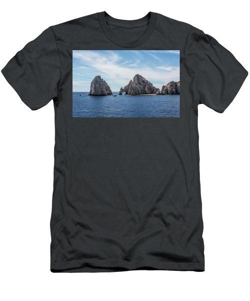 Cabo San Lucas El Arco Men's T-Shirt (Athletic Fit)