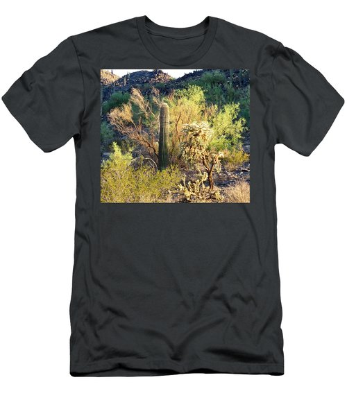 Cactus Kingdom Men's T-Shirt (Athletic Fit)