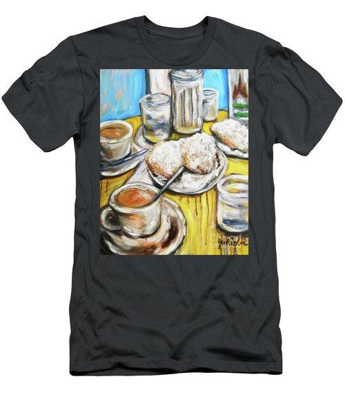 Cafe Au Lait Men's T-Shirt (Athletic Fit)