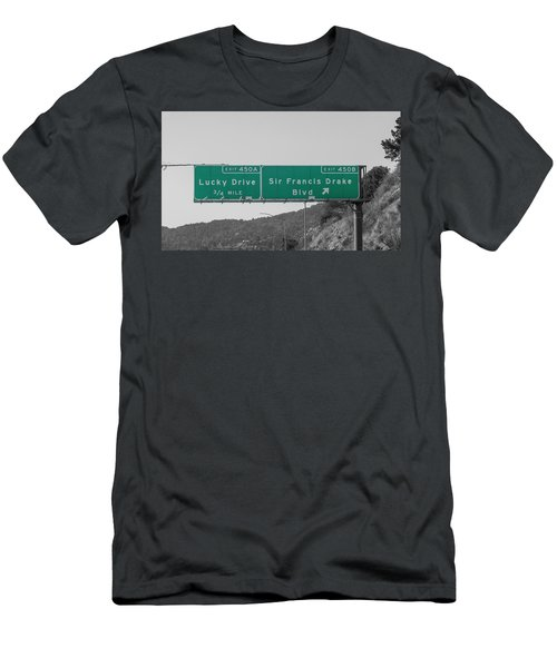California Lucky Traveling Men's T-Shirt (Athletic Fit)