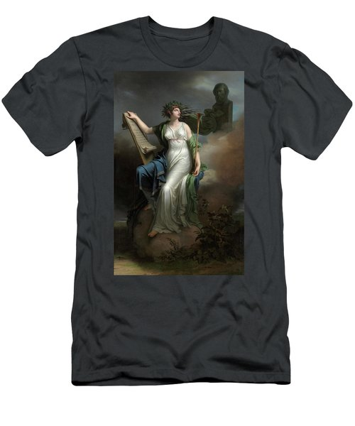 Calliope, Muse Of Epic Poetry, 1798 Men's T-Shirt (Athletic Fit)