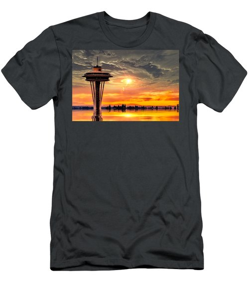 Calm After The Storm Men's T-Shirt (Athletic Fit)