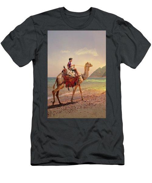 Camel Men's T-Shirt (Athletic Fit)