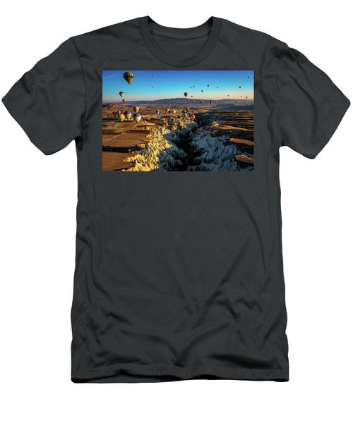 Men's T-Shirt (Athletic Fit) featuring the photograph Capadoccia by Francisco Gomez