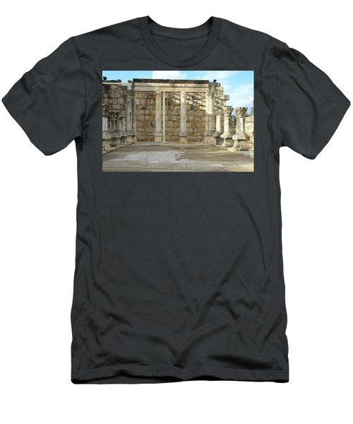 Capernaum, Israel - Synagogue Men's T-Shirt (Athletic Fit)