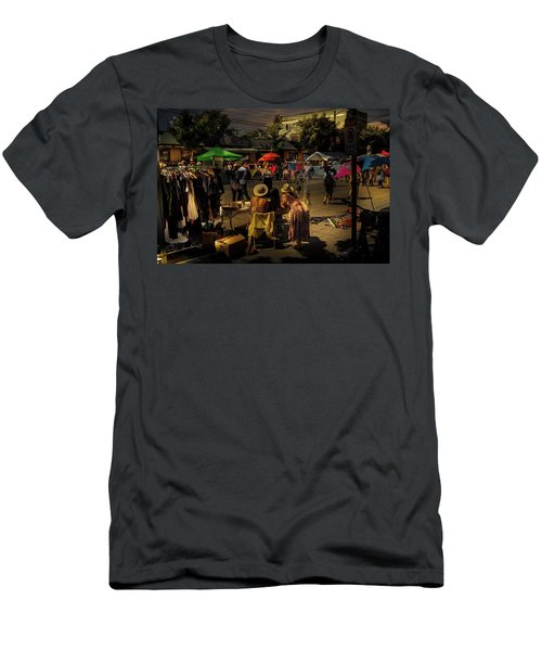 Men's T-Shirt (Athletic Fit) featuring the photograph Car-free Day No. 2 by Juan Contreras