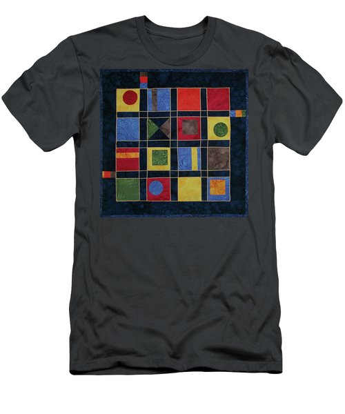 Carnival Of Colors Men's T-Shirt (Athletic Fit)
