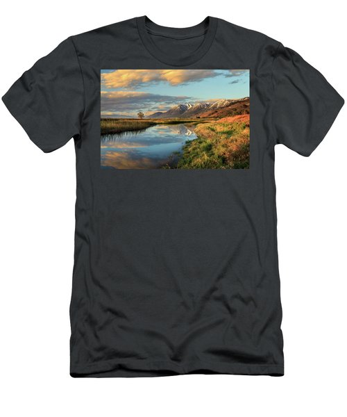Carson Valley Sunrise Men's T-Shirt (Athletic Fit)