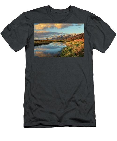 Carson Valley Sunrise Men's T-Shirt (Athletic Fit)