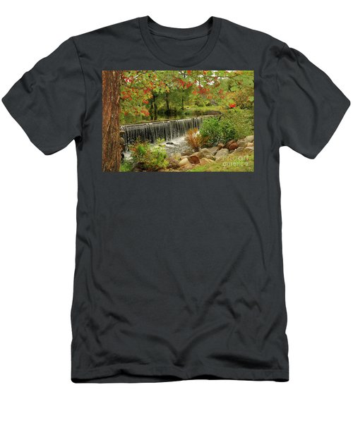 Men's T-Shirt (Athletic Fit) featuring the photograph Cass Dam by Debbie Stahre