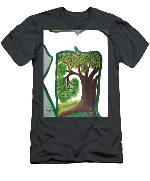 Chet, Tree Of Life  Ab21 Men's T-Shirt (Athletic Fit)
