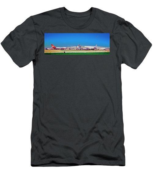Chicago, International, Terminal Men's T-Shirt (Athletic Fit)