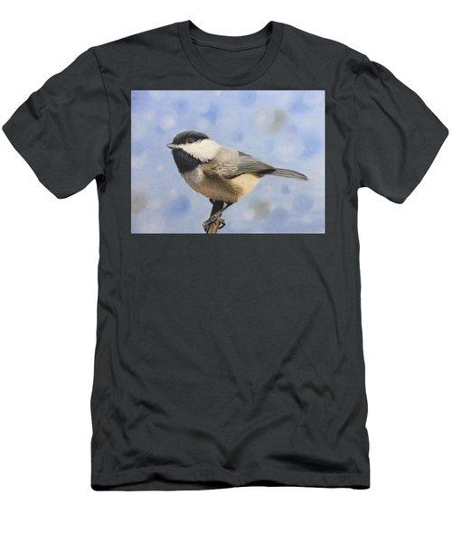 Chickadee Dee Dee Men's T-Shirt (Athletic Fit)