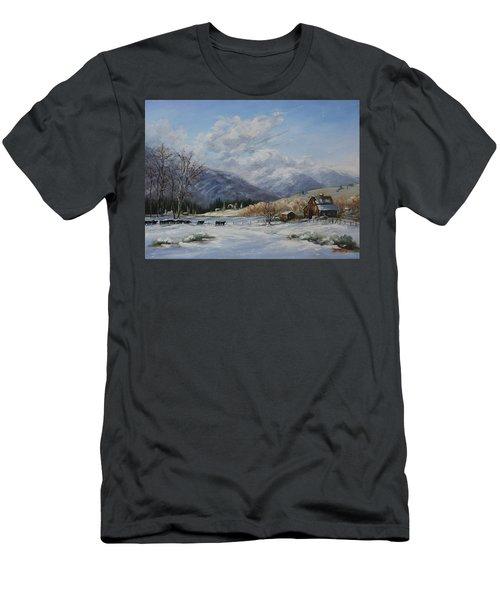 Chow Line Men's T-Shirt (Athletic Fit)