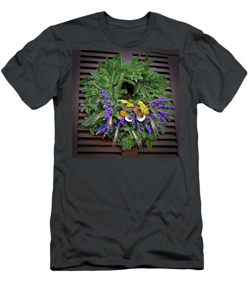 Men's T-Shirt (Athletic Fit) featuring the photograph Christmas Blues by Don Moore
