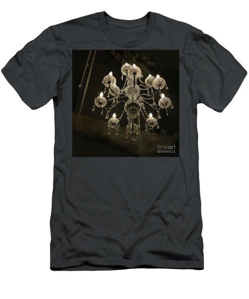 Chrystal Lights Men's T-Shirt (Athletic Fit)
