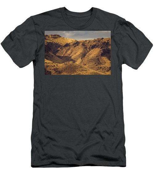 Men's T-Shirt (Athletic Fit) featuring the photograph Chupadera Mountains by Jeff Phillippi
