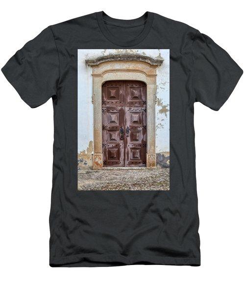 Church Door Of Obidos Men's T-Shirt (Athletic Fit)