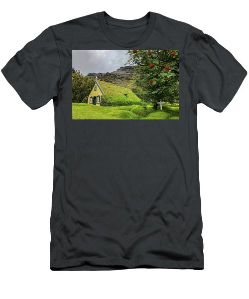 Church Of The Holy Moss Men's T-Shirt (Athletic Fit)
