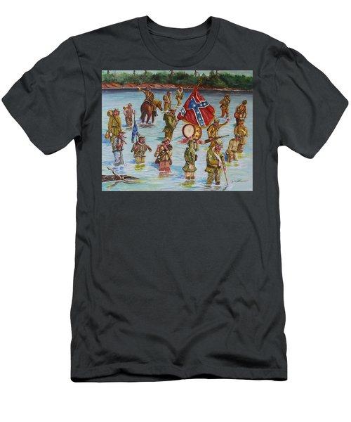 Civil War Battle, Spanish Fort, Mobile Bay, Mobile, Alabama Men's T-Shirt (Athletic Fit)