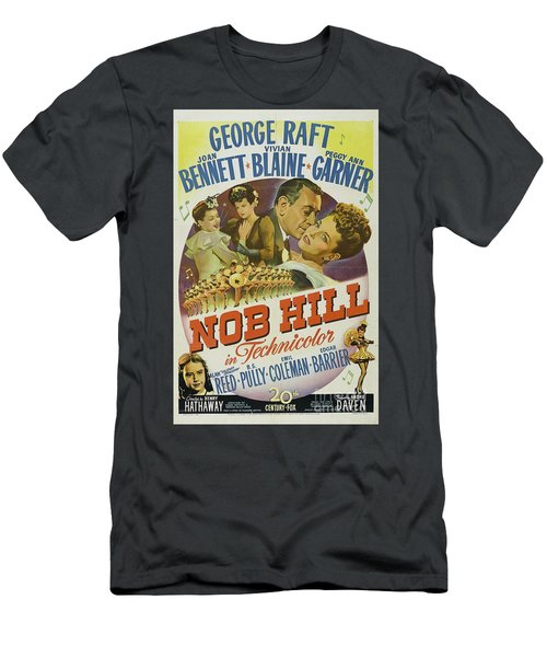 Classic Movie Poster - Nob Hill Men's T-Shirt (Athletic Fit)