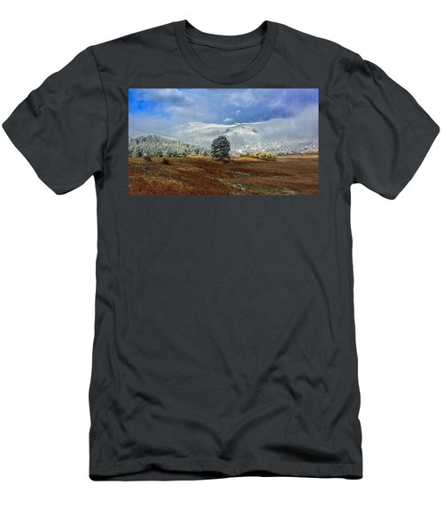 Men's T-Shirt (Athletic Fit) featuring the photograph Clearing Storm by Dan Miller