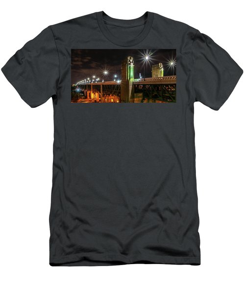 Cleveland Lights  Men's T-Shirt (Athletic Fit)