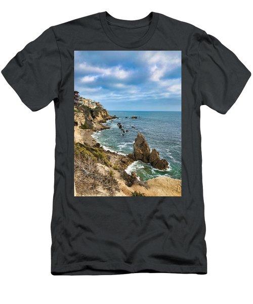 Cliffs Of Corona Del  Mar Men's T-Shirt (Athletic Fit)
