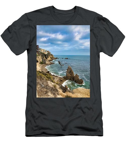 Cliffs Of Corona Del  Mar Men's T-Shirt (Athletic Fit)