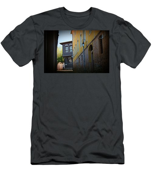 Men's T-Shirt (Athletic Fit) featuring the photograph Close by Milena Ilieva