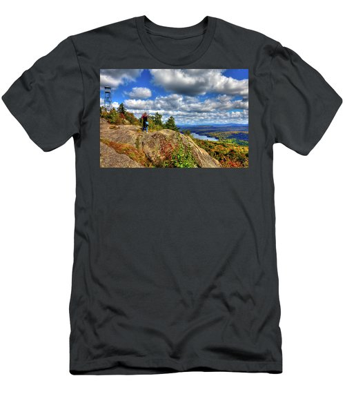 Men's T-Shirt (Athletic Fit) featuring the photograph Close To Heaven On Earth by David Patterson