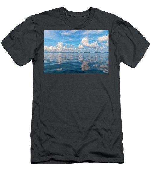 Clouded Bliss Men's T-Shirt (Athletic Fit)