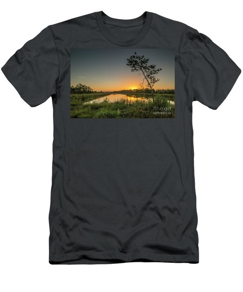 Cloudless Hungryland Sunrise Men's T-Shirt (Athletic Fit)